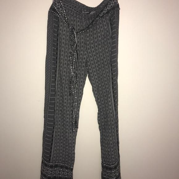 Cynthia Rowley Pants - Lounge high rise pants wide leg
